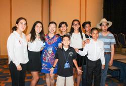Beautiful students from Latinamerica