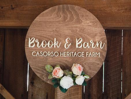 Brook & Barn Blog