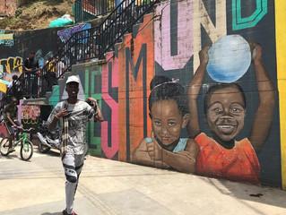 Arte contra la maldicion en la Comuna 13 (La Vanguardia)