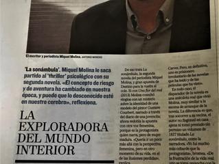 """""""La exploradora del mundo interior"""", así lo ve el escritor Matías Néspolo"""