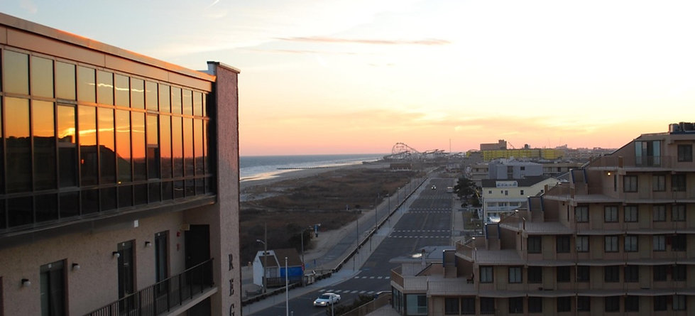 View from North Wildwood Luxury Condo