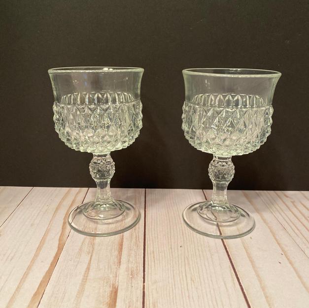 Small Cut Glass Champagne