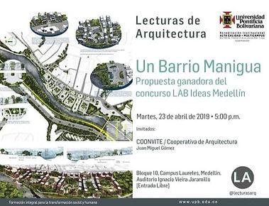 Lecturas de arquitectura Un barrio manig