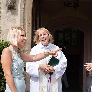 Cerys and Bryn's wedding