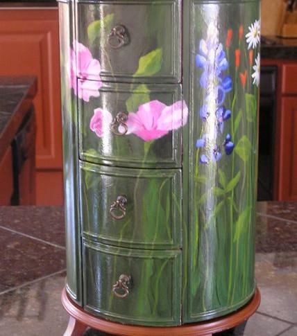 Wildflower Jewerly Box