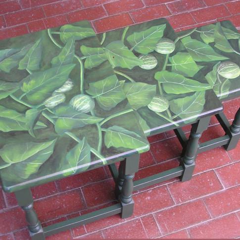 Buffalo Gourd Nesting Tables