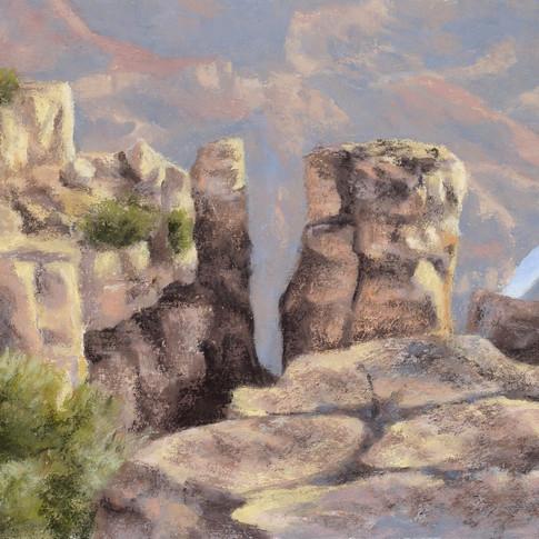 Cliff Hanger, Pastel