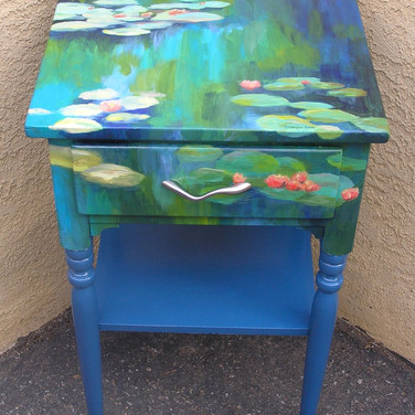 Monet-esque Nightstand