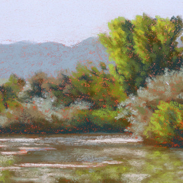 Still Waters, Pastel