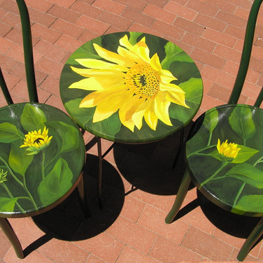 Sunflower Bistro Set