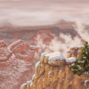 Grand Winter, Pastel
