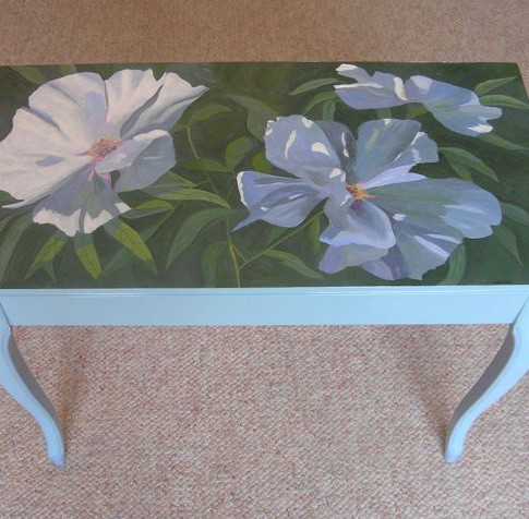 French Flower Table