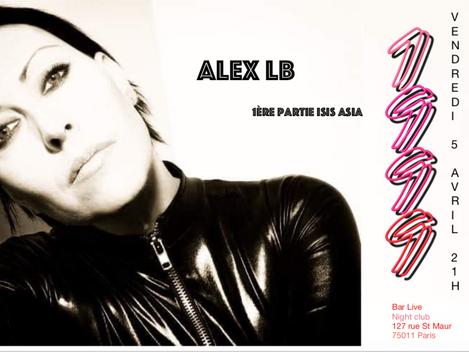 Alex LB Live au 1999