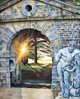 Sunrise Carton House Arch