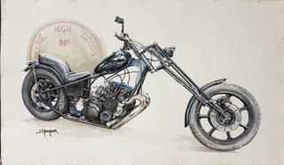 Unique Motorcycle by Jon Croc