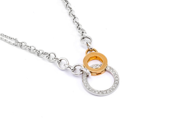 18KT White Gold Necklace