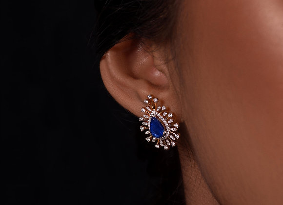 Blue Sapphire & Diamond Classic