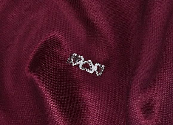 Ring Heart Shape