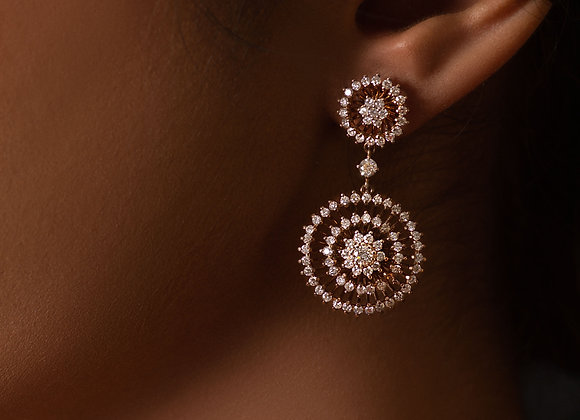 Contemporary Flora Earrings