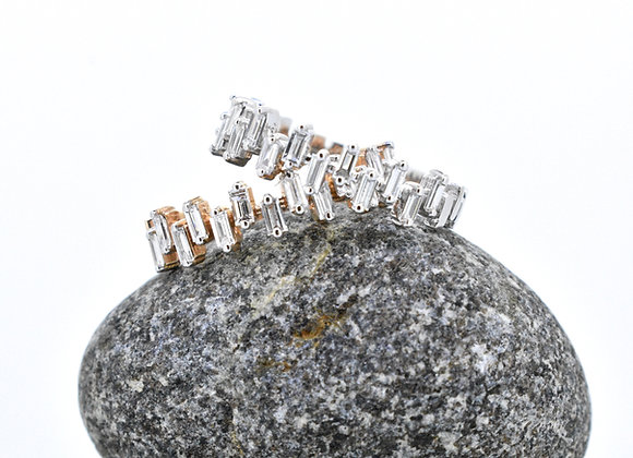 Jagged Edges - Stackable Rings