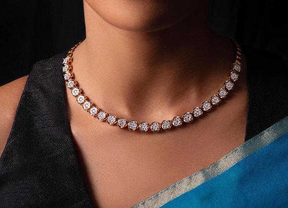 Classic Diamond String Necklace