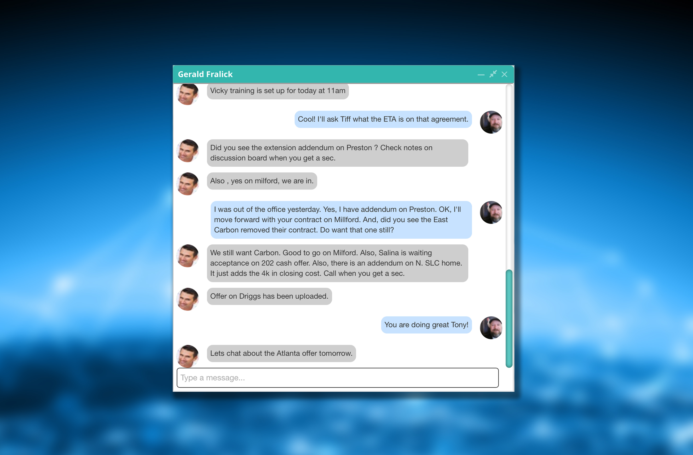 Zoocom's communication platform