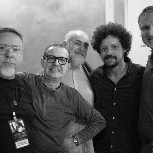 Renato Copolli, Ricardo Carvalheira, Ricardo Cantaluppi, Chico e Rodolfo Zanke  Foto: Valéria Zoppello