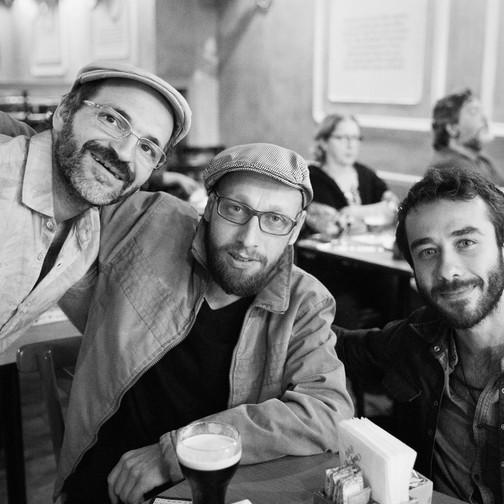 Camillo Zorilla, João Oliveira e Mário Gascó  Foto: Valéria Zoppello