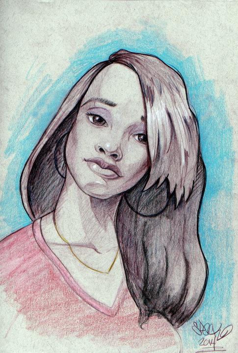 Sketch of Tiana