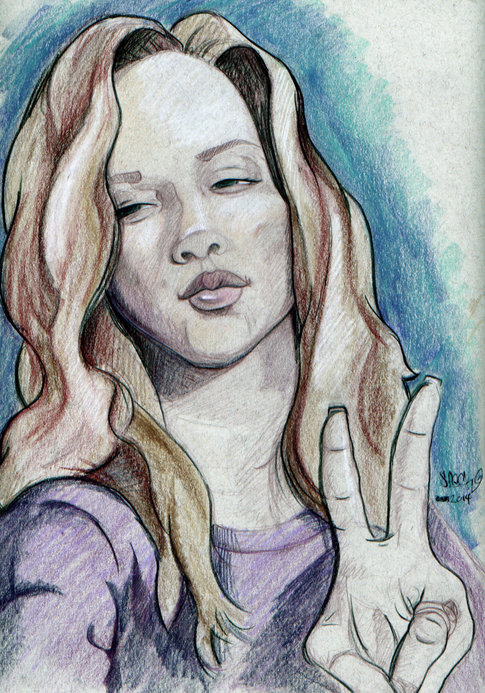 Sketch of Jessica