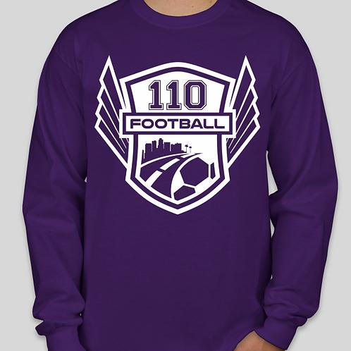 Purple Long-Sleeve T-Shirt