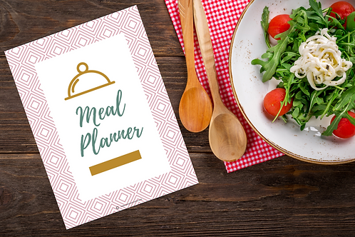Mommy Inspired Meal Planner