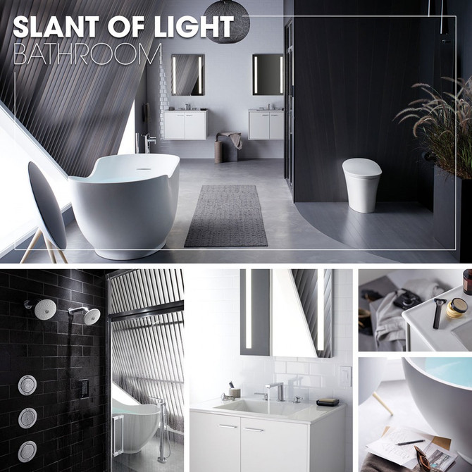 Kohler Inspirations - SLANT OF LIGHT BATHROOM