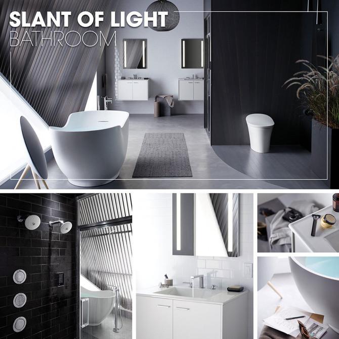 Kohler Inspirations - SLANT OF LIGHT BATHROOM