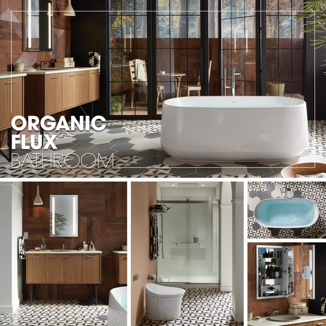Kohler Inspirations - Organic Flux Bathroom