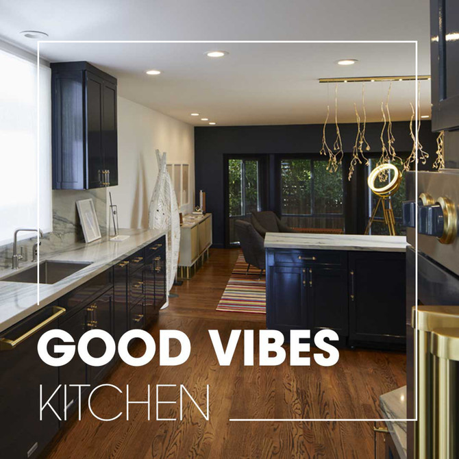 Good Vibes Kitchen - Kohler Inspiration