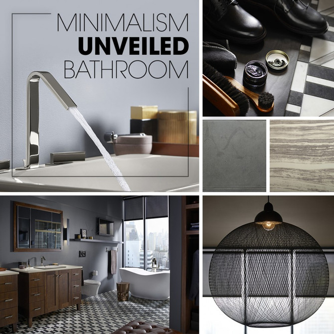 Minimalism Unveiled Bathroom - Kohler Inspiration
