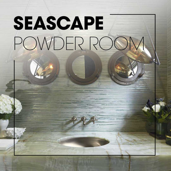 Seascape Powder Room - Kohler Inspiration