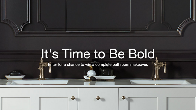 Win a complete bathroom makeover!