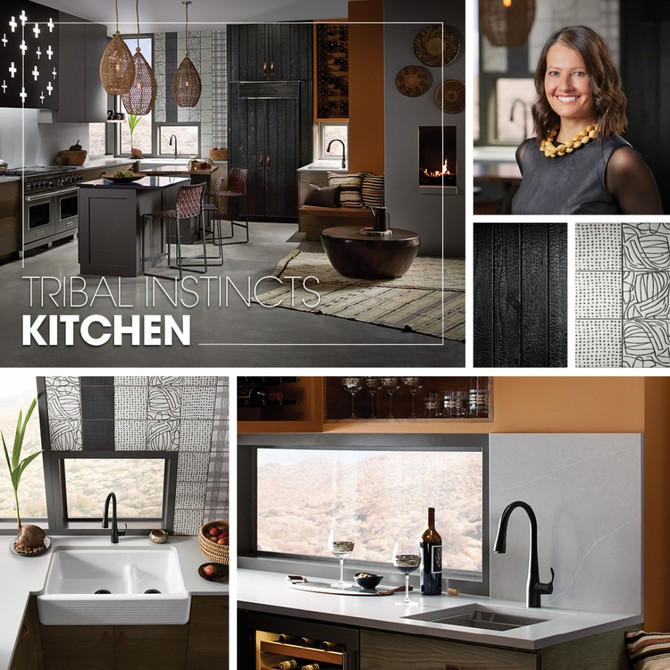 Tribal Instincts Kitchen - Kohler Inspiration