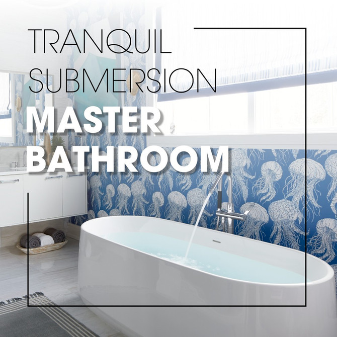 Tranquil Submersion Master Bathroom