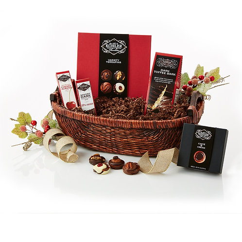 Savory & Dark Basket