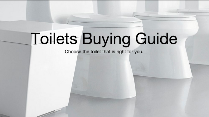 Kohler Toilet Guide