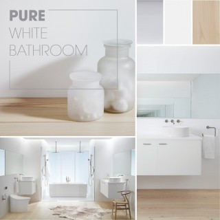 Pure White Bathroom - Kohler Inspirations
