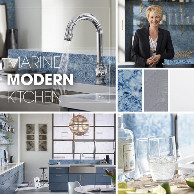 Marine Modern Kitchen - Kohler Inspiration
