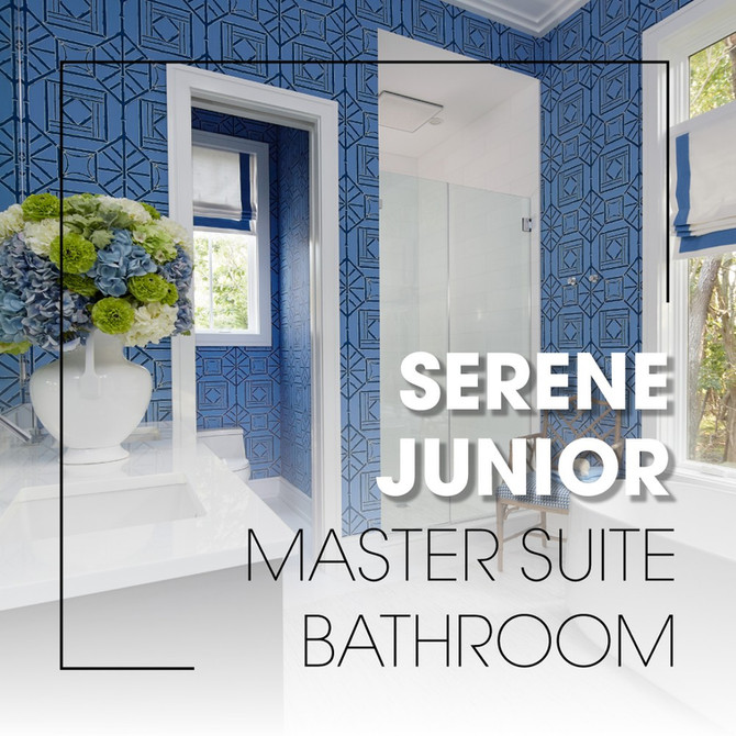 Serene Junior Master Suite Bathroom
