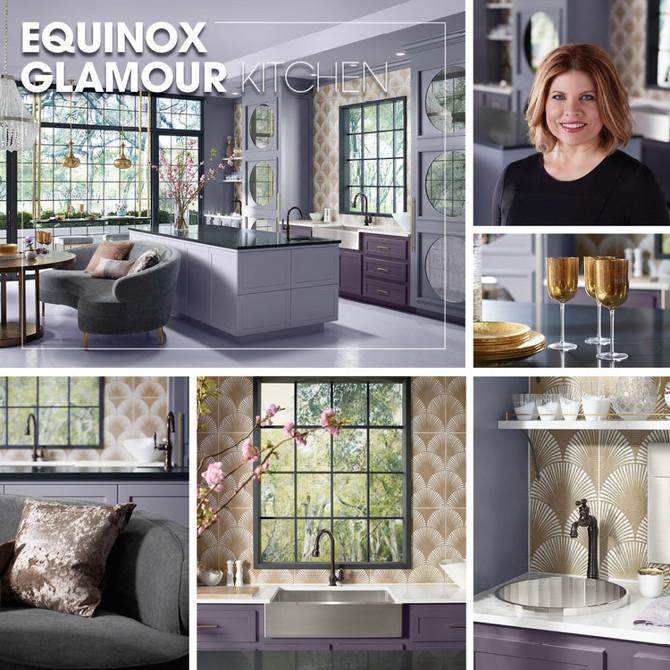 Kohler Inspirations - Equinox Glamour Kitchen
