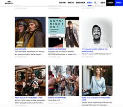 Movember Website