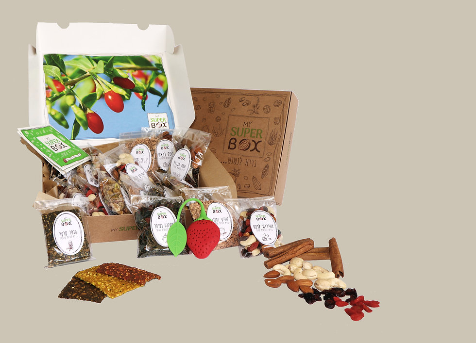 healthy snacks mysuperbox mixes superfood