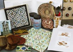 Reproduction of ancient ceramics
